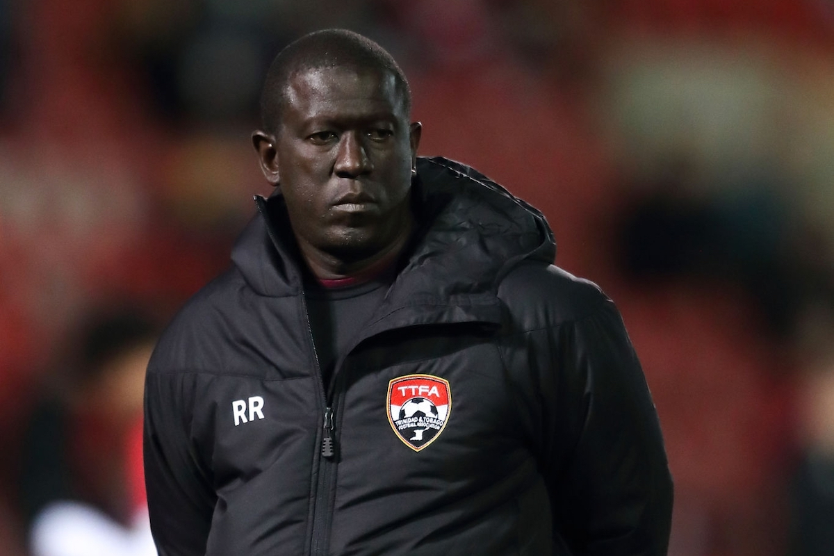 Trinidad and Tobago goalkeeping coach Ross Russell during the International Friendly between Wales and Trinidad and Tobago at Racecourse Ground on March 20, 2019 in Wrexham, Wales. (Photo by James Williamson - AMA/Getty Images)