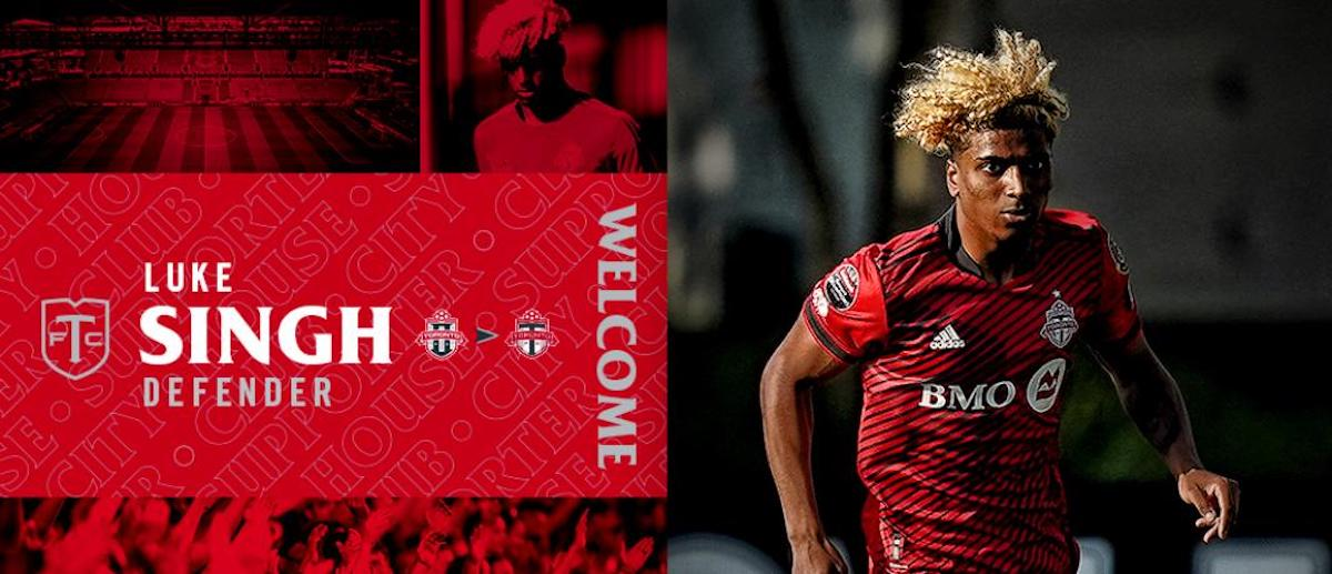Toronto FC welcomes Luke Singh