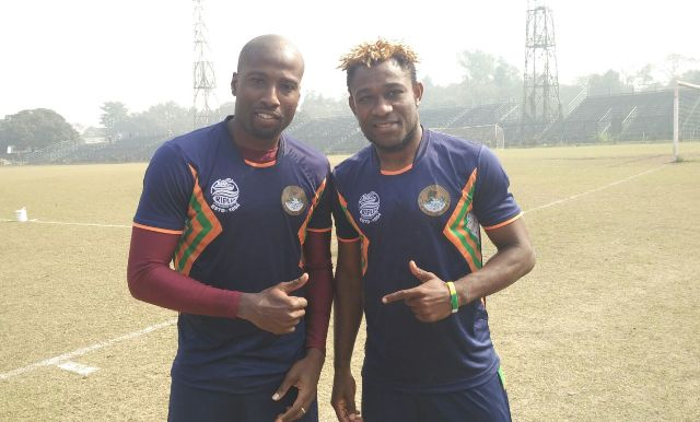 Mohun Bagan's Cornell Glen and Sony Norde