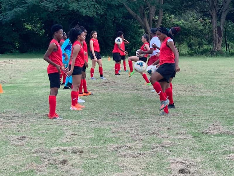 U-20 Women commence training camp in Santo Domingo.