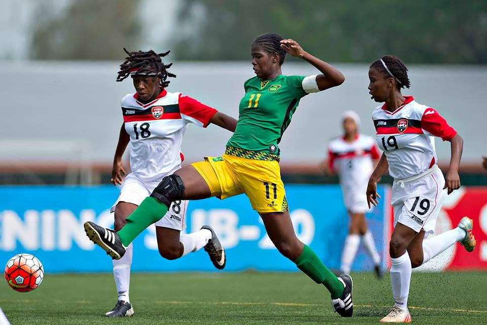 Trinidad and Tobago U-20 Women vs Jamaica