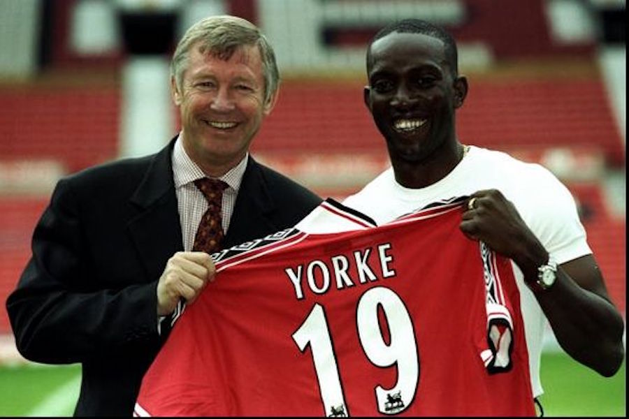d3b48ee1f When Dwight Yorke signed for Manchester United