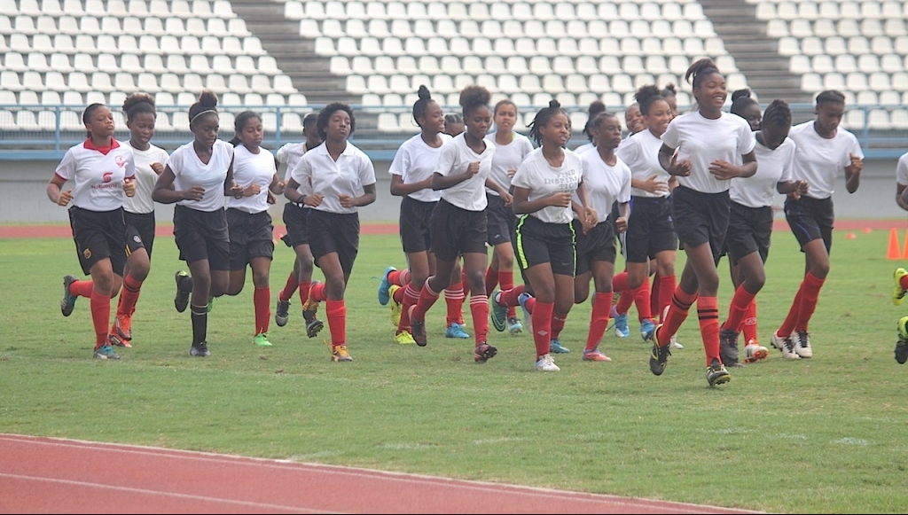 T&T U-15 Girls to face US in CONCACAF Opener at Disney.